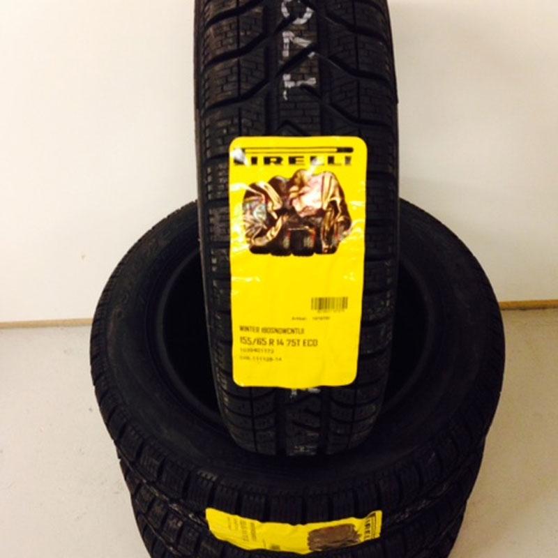 4 stk Pirelli 155/65 R14 W190