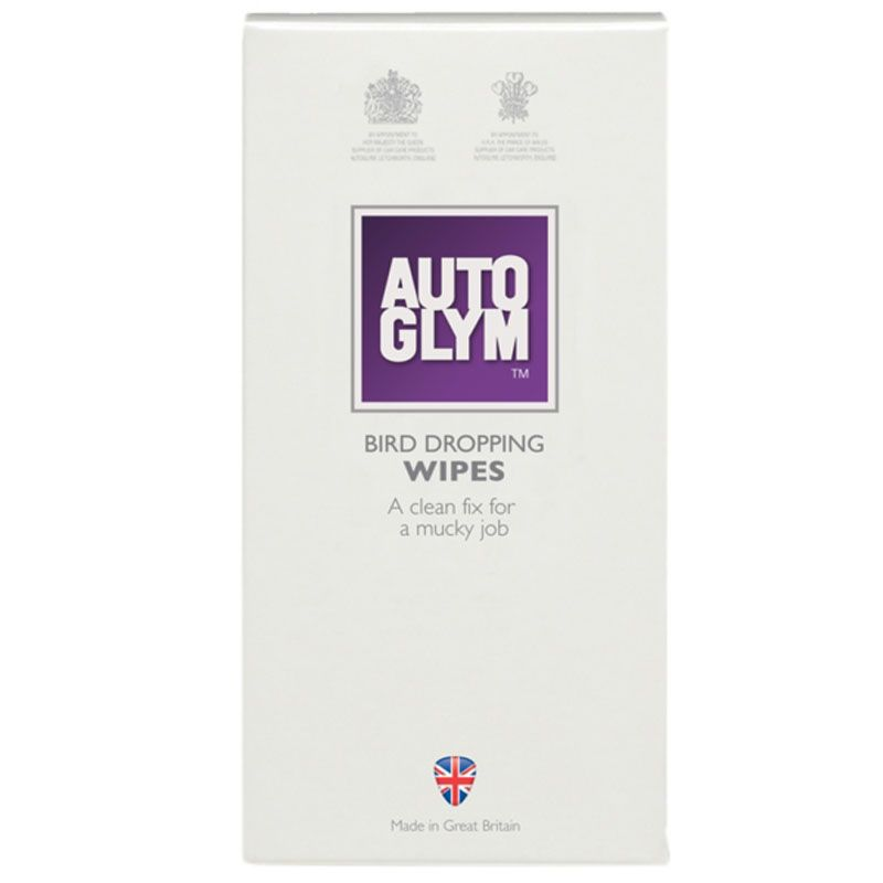 AUTOGLYM BIRD DROPPING WIPES - 10 STK.