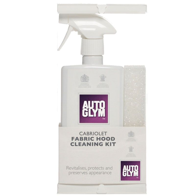 AUTOGLYM FABRIC HOOD CLEANING KIT 2 x 500ML