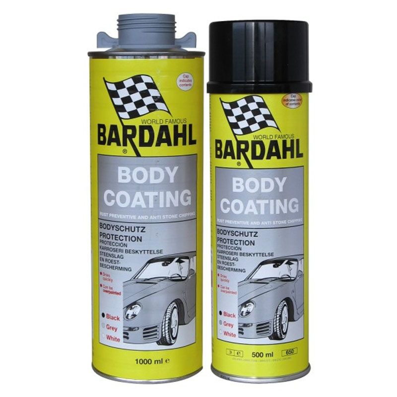 Bodycoating Spray/Sort 500ml