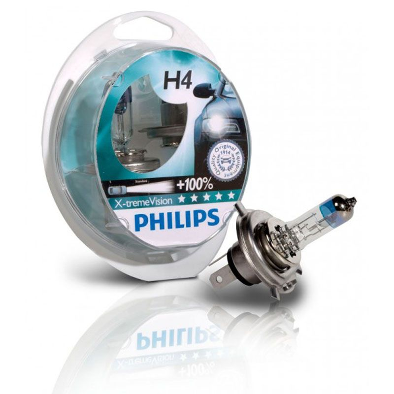 PHILLIPS H4 X-TREMEVISION +100%