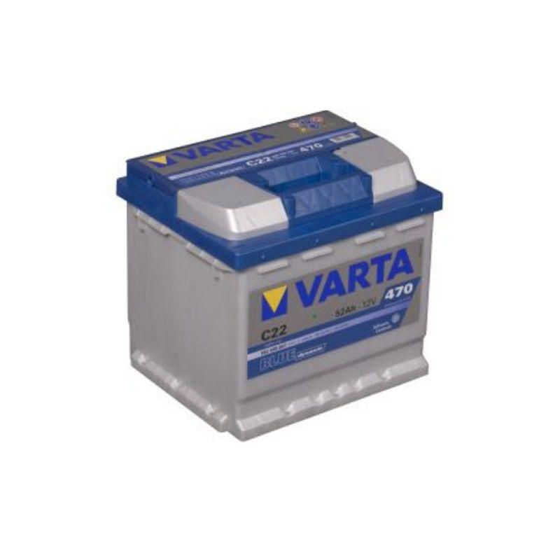 Varta Blue Dynamic 12 Volt 52 AH C22