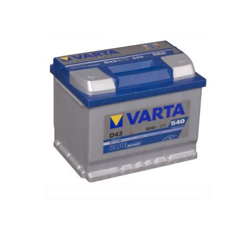 Varta Blue Dynamic 12V 60Ah 540A D43