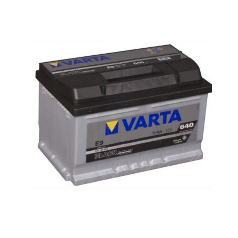 Varta Black Dynamic 12 Volt 70 Ah E9