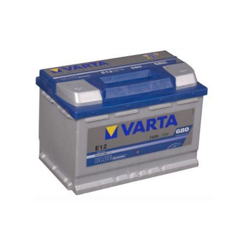 Varta Blue Dynamic 12 Volt 74 AH E12