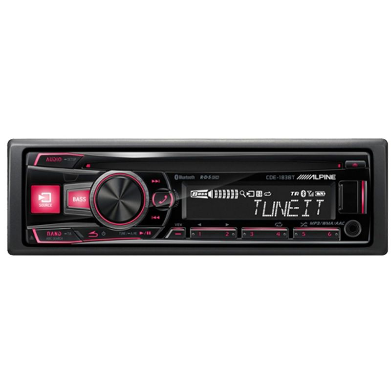 ALPINE CD/TUNER BLUETOOTH 3 LINE OUT