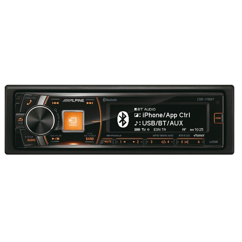 ALPINE CD/TUNER BLUETOOTH 3 LINE OUT 4V