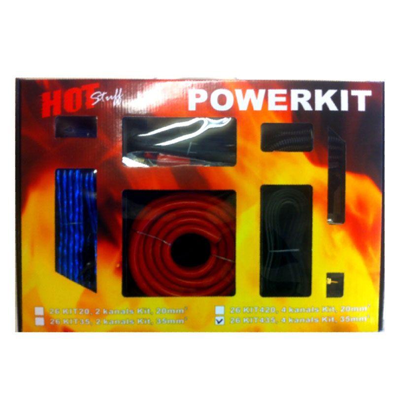 Hot Stuff Powerkit, 4 Kanals 35mm²
